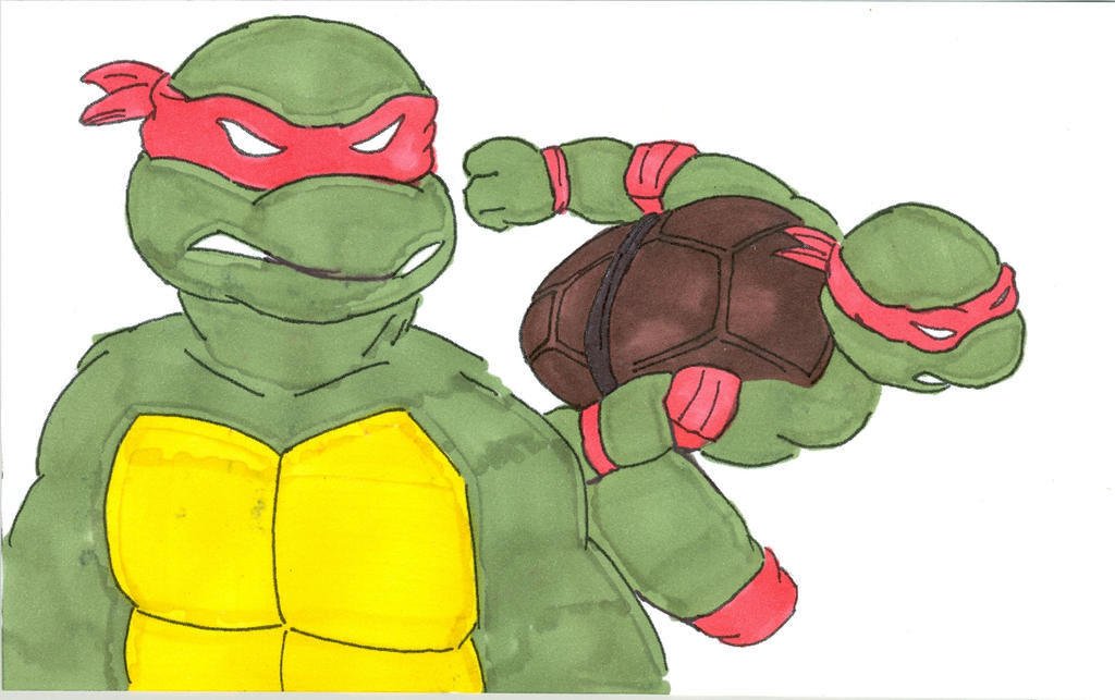 Classic Turtles by Ninjaraph