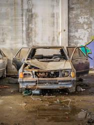 Abandoned car 1 by OliverAF