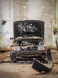 Abandoned car 3 by OliverAF
