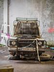 Abandoned car 5 by OliverAF