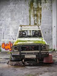 Abandoned car 6 by OliverAF