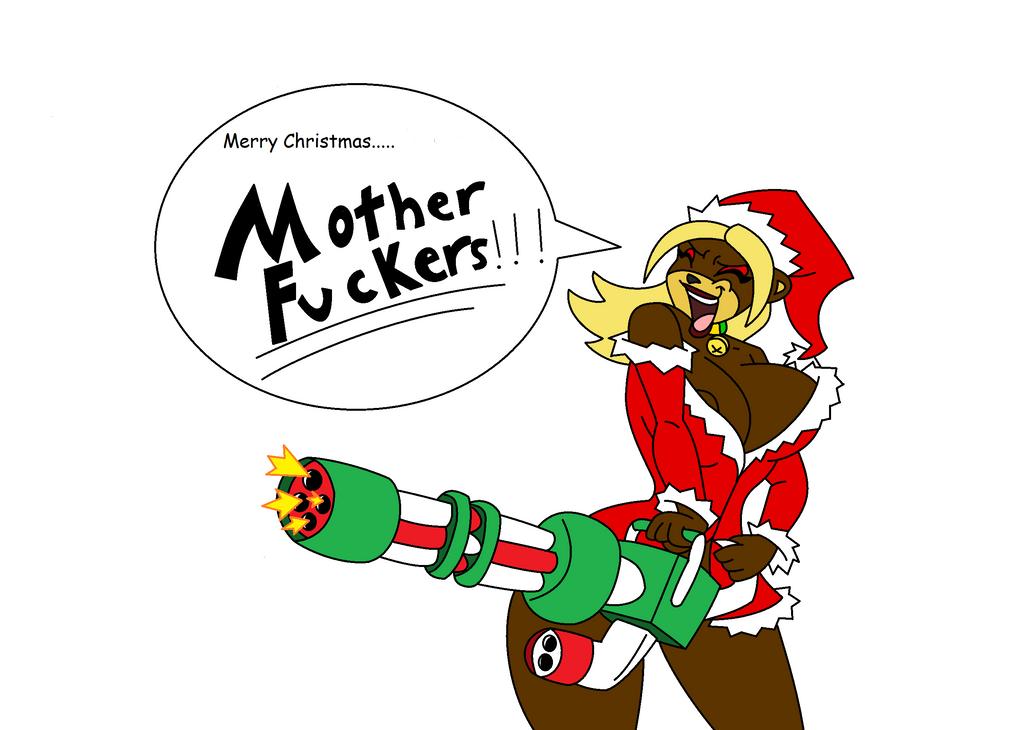 Cherry christmas by QTcomics