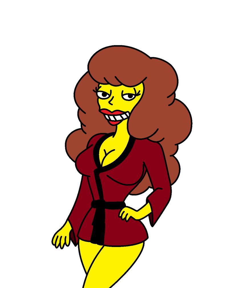 Simpsons Shannon by QTcomics