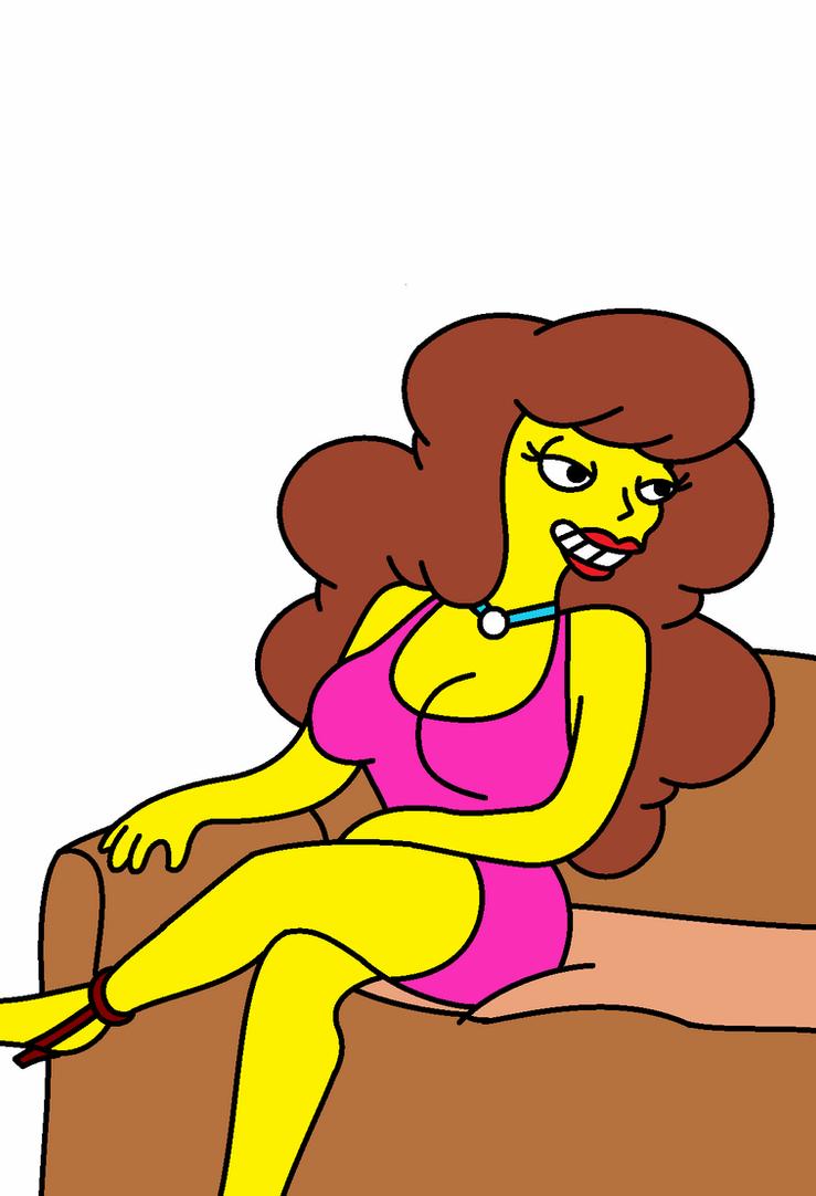 Simpsons shannon 2 by QTcomics