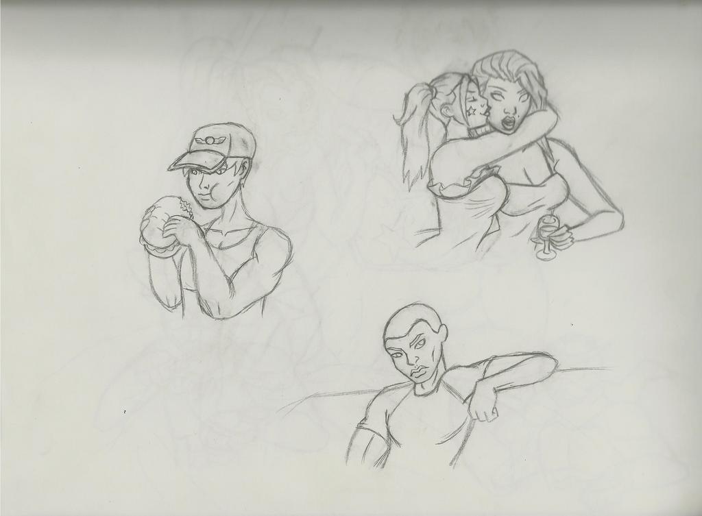 Outkast sketch 1 by QTcomics