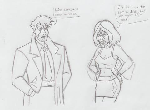 Justice League John Constantine n Rogue