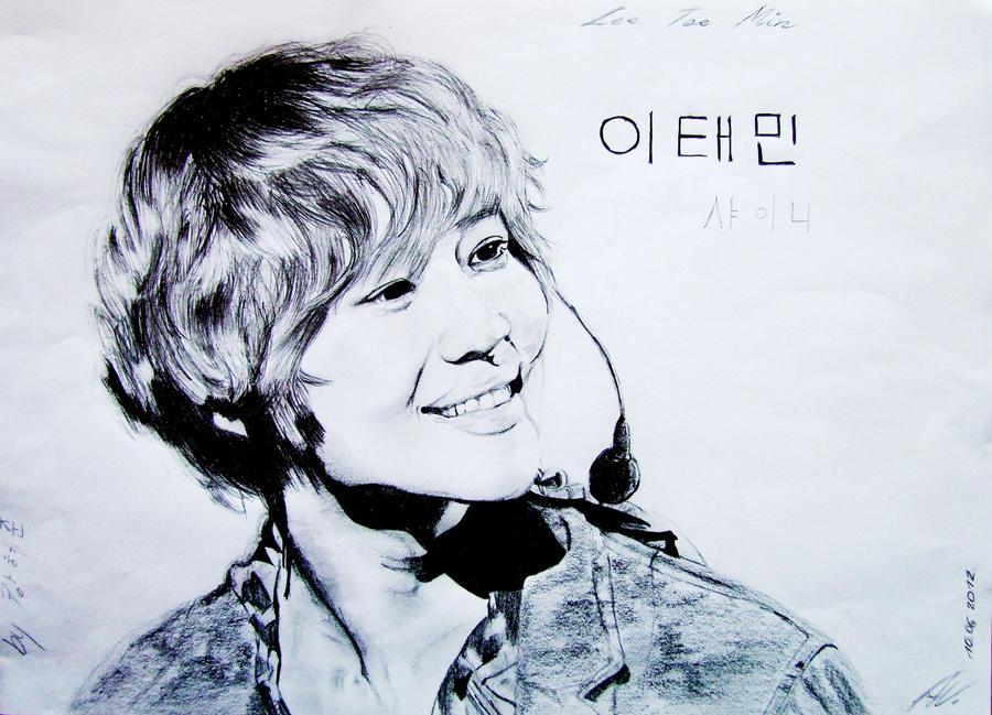 Lee Taemin Angelic Smile by Koeno77Shiro