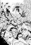 Fantastic Four Inks.
