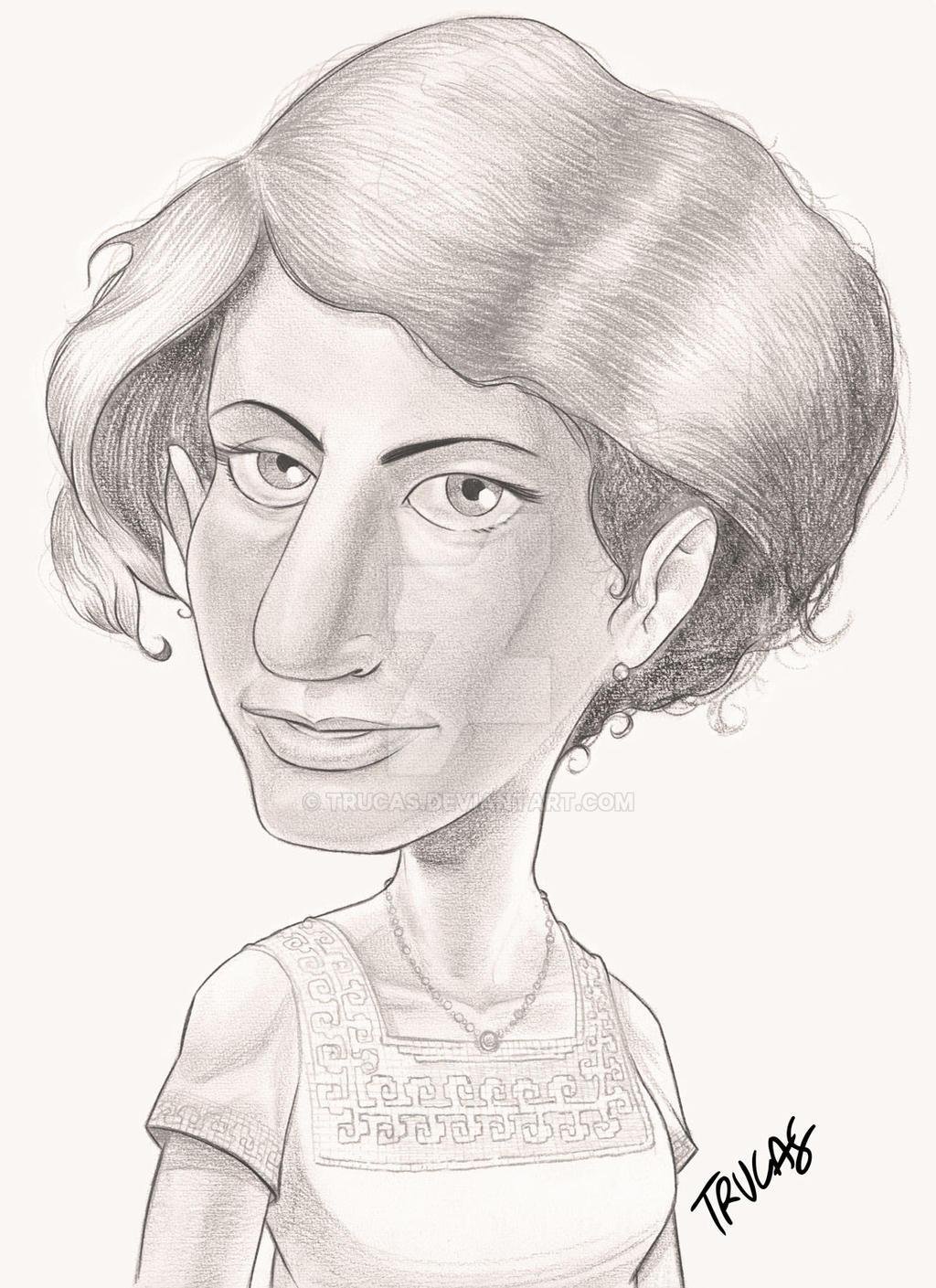 Ana Freud by Trucas