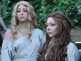 Margaery and Cersei Prisoners Cosplay