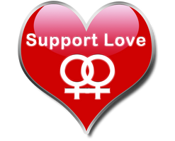 Support Love - Lesbian
