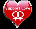 Support Love - Lesbian