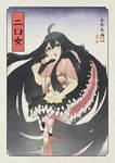 Sayatober 9: Futakuchi-onna
