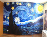Starry Night Fresco by naschta