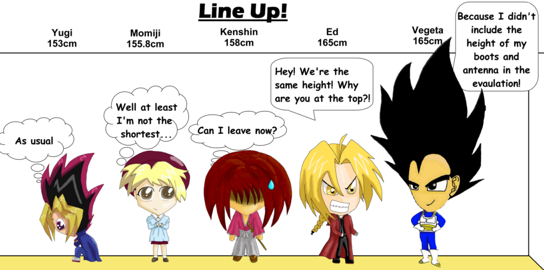 Anime Line Up By Janithya