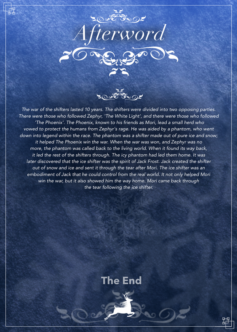 RotG: SHIFT (Afterword) by LivingAliveCreator