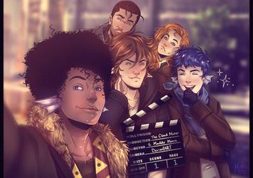 TCM: The Movie (Cast Selfie) by LivingAliveCreator