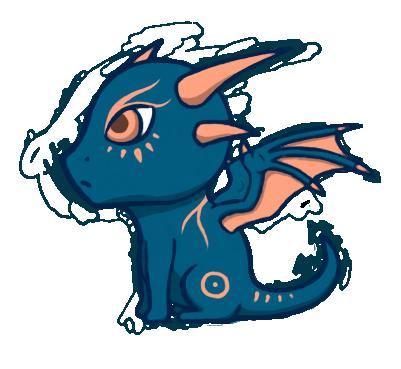 Chibi Dragon by Fleepeur