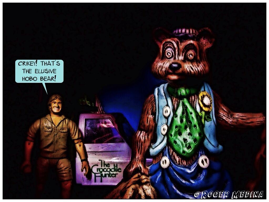 Hobo Bear in the Wild