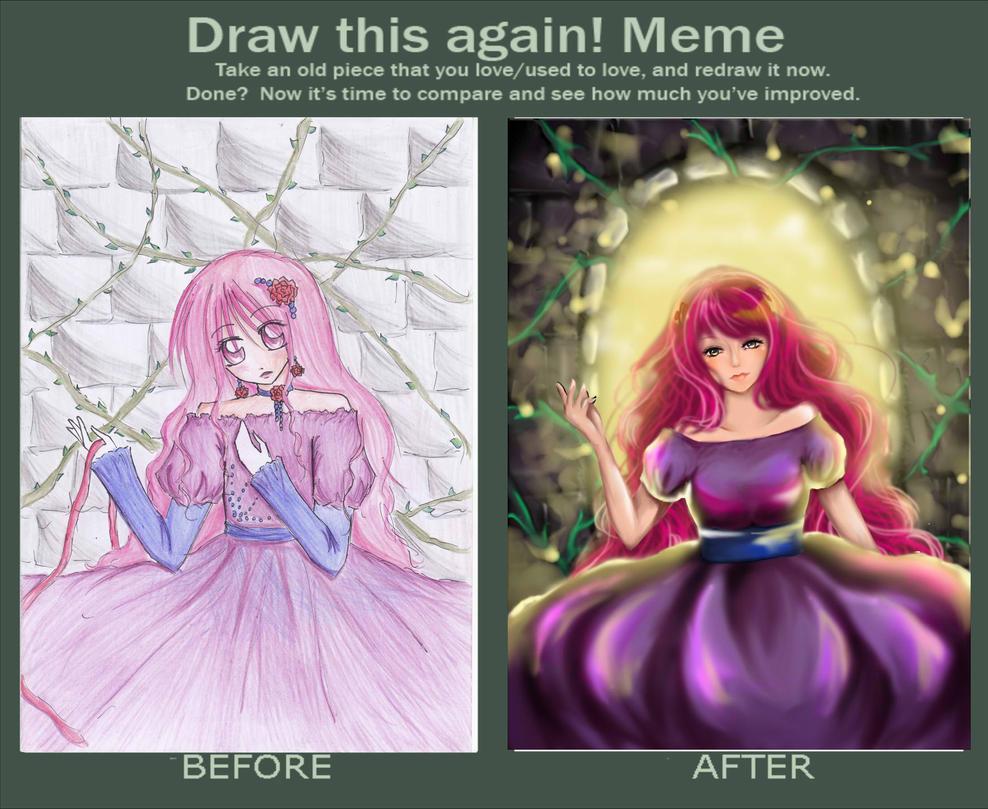 Draw this again meme by Jenelim