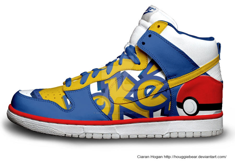 nike dunks pokemon custom