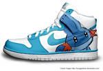 Mudkip Nike Dunks