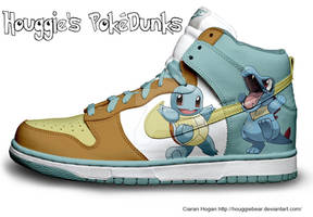 Squirtle + Totodile Nike Dunks