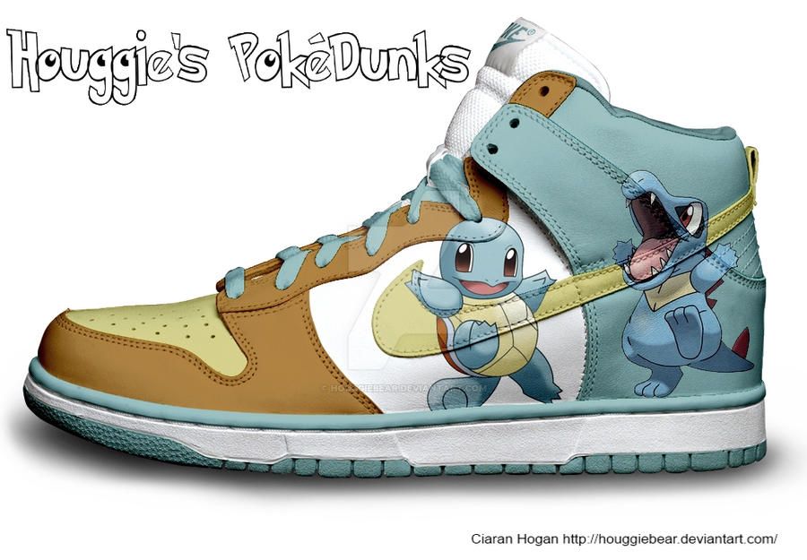 squirtle nike dunks for sale