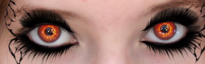 Vampiress's Eyes by MonochromeReflection