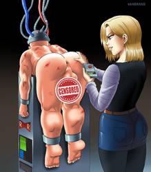 RedRibbon Brainwashing machine (cens.) by VanBrand by Acarobasito
