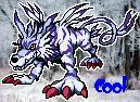 """Garurumon """"cool"""" icon by Sleipmon03"""