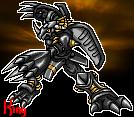 Blackwargreymon Icon by Sleipmon03