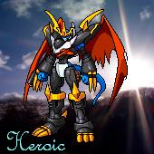 Imperialdramon 'Heroic' icon by Sleipmon03
