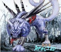 Garurumon 'infected' icon by Sleipmon03