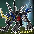 Raidramon 'zap' icon by Sleipmon03