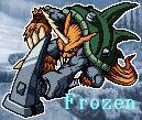 Zudomon 'frozen' icon by Sleipmon03