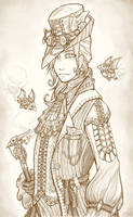Steampunk Man by EvilSnailOverlord