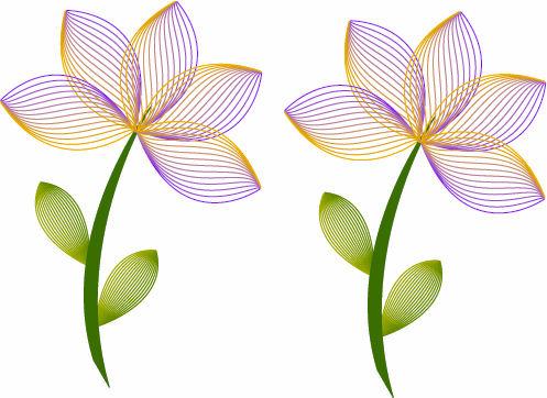 vector flowers 2 by karma4ya