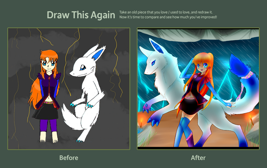Draw this again contest by LunarThunderStorm