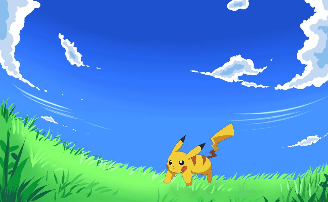 Pikachu Iron Tail Gif Pikachu Use Iron Tail by
