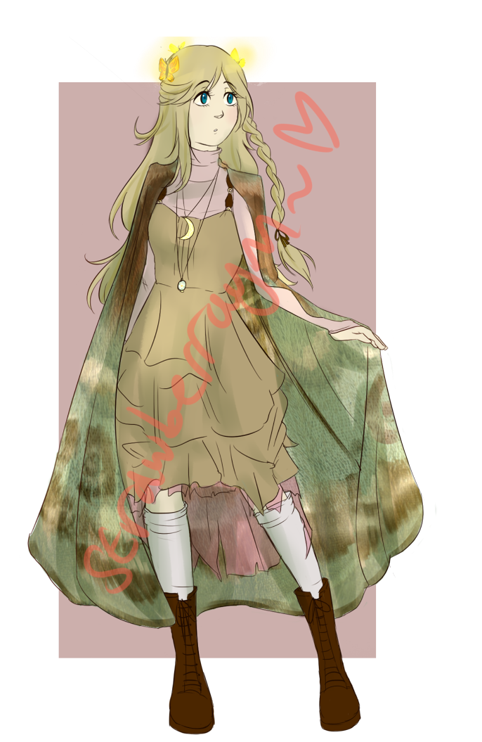 Mystery Aesthetic Adopt Reveal #4 - Spring Witch by strawberraym on