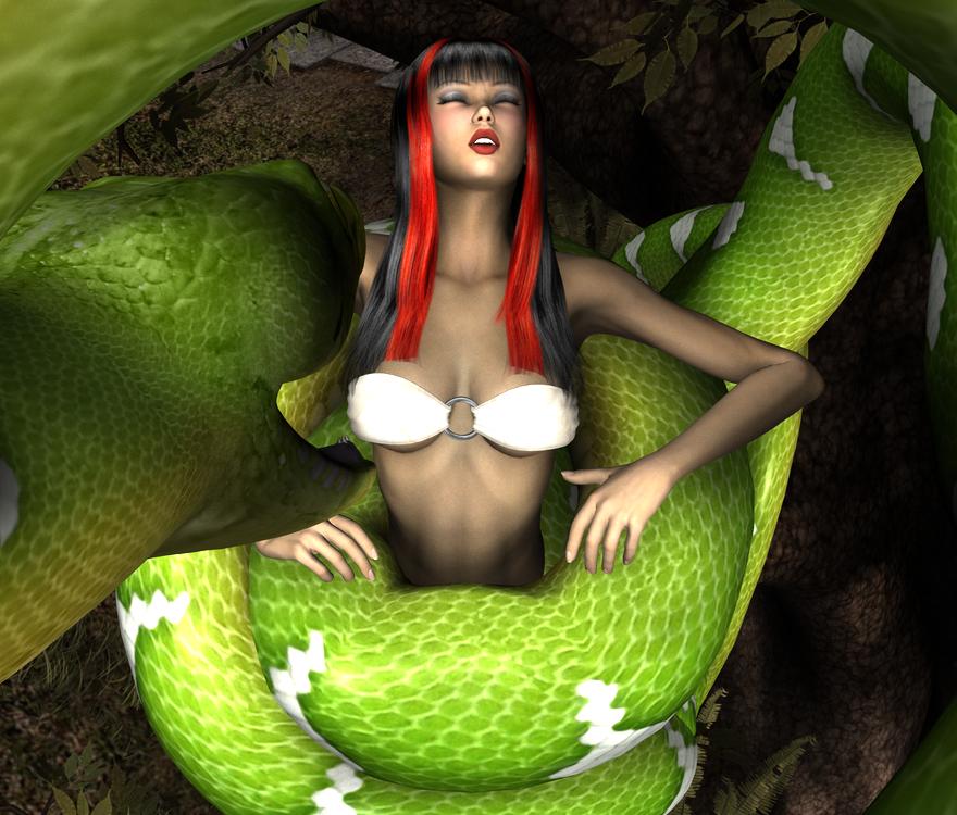 Selena Vs Snake 2b by Cooolstorm