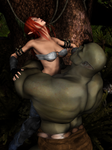 Orc Bearhugs Elf