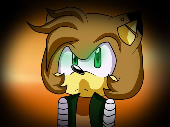 //Comm 2/2: LukeVei-Da-Hedgehog by BramiletFoxxy012