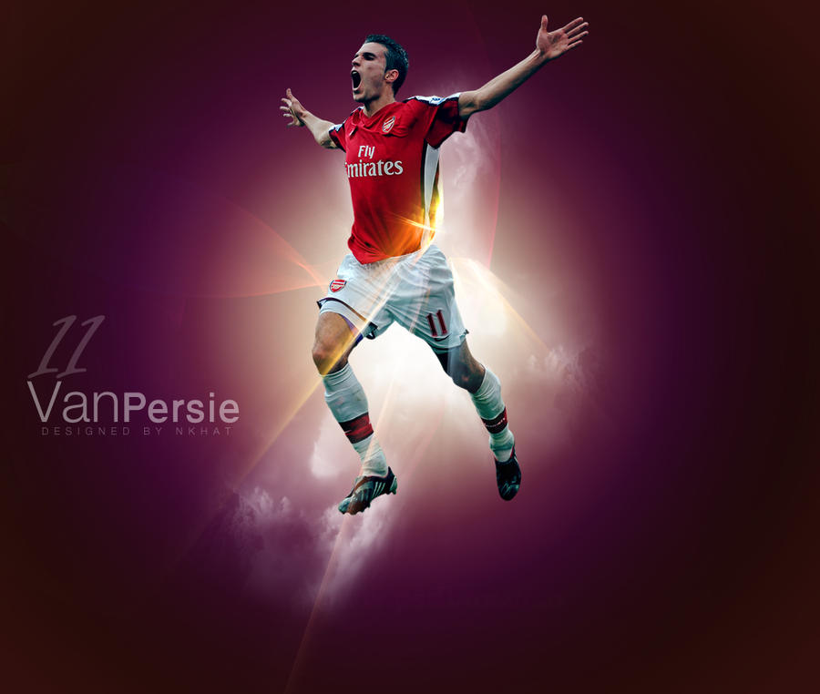 Van Persie WALLPAPER by nkhat1