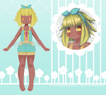 [CLOSED] REDUCED PRICE: Adopt Leaf Girl