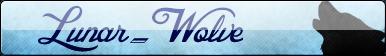Lunar-Wolve button by Voltage-Art