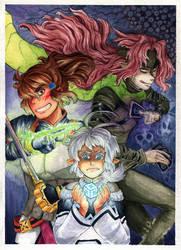 Three Villains by IgaAori