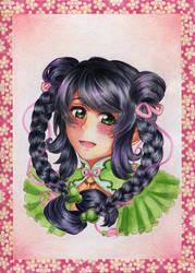 Smile of Hanako by IgaAori