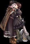 YCH Plain Doll x Adelheid for Holly-Hoyle by IgaAori
